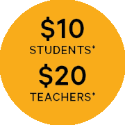 Teachers Pass – Available to all Primary and Secondary schools and music teachers all over New Zealand